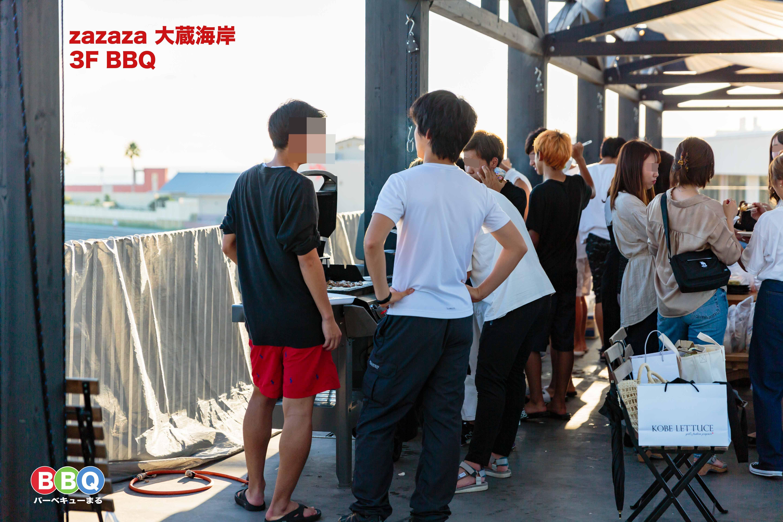 大蔵海岸BBQ