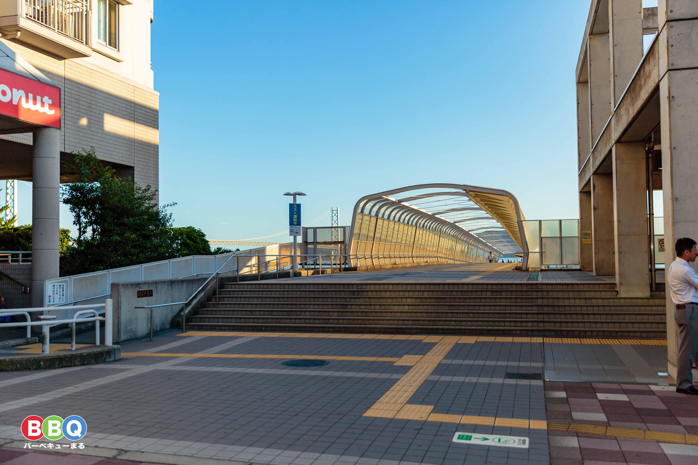 朝霧歩道橋