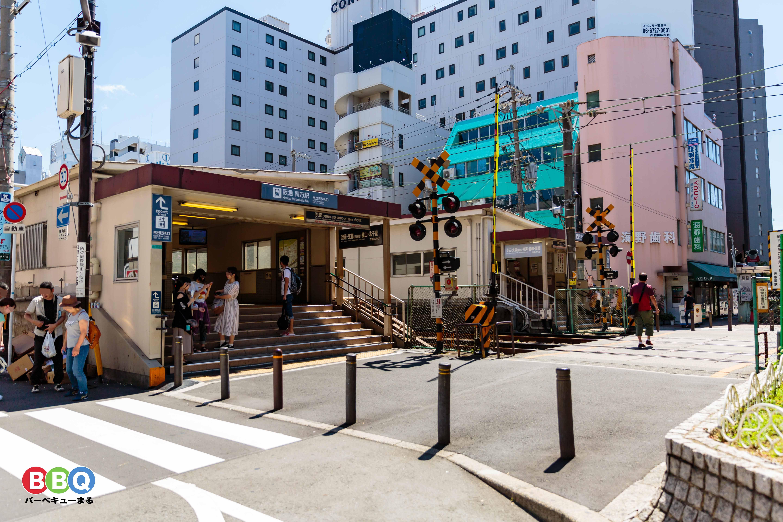 阪急京都線「南方駅」