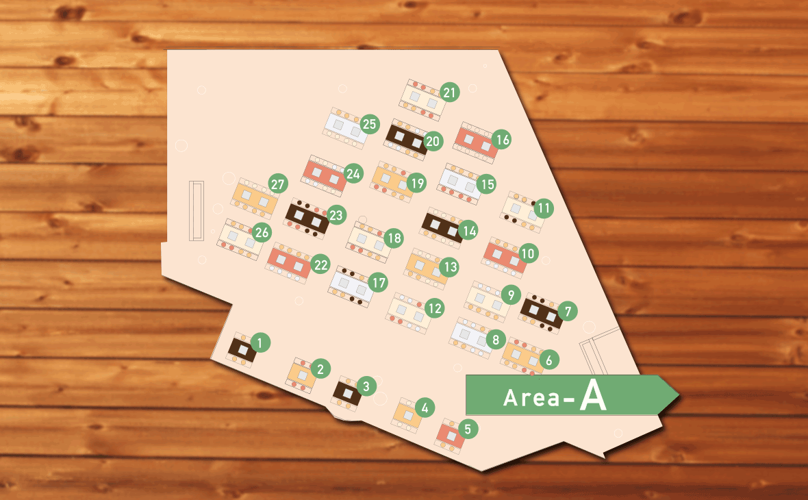 万博記念公園b-baseのarea_Aのmap