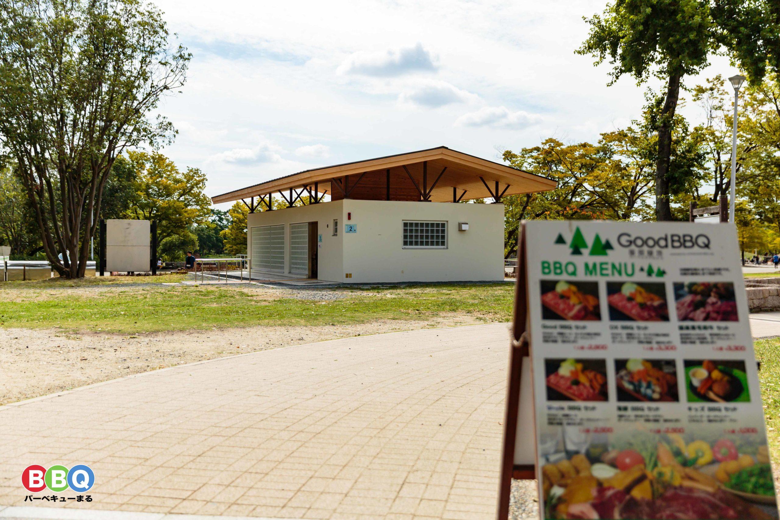 服部緑地公園の公衆トイレ
