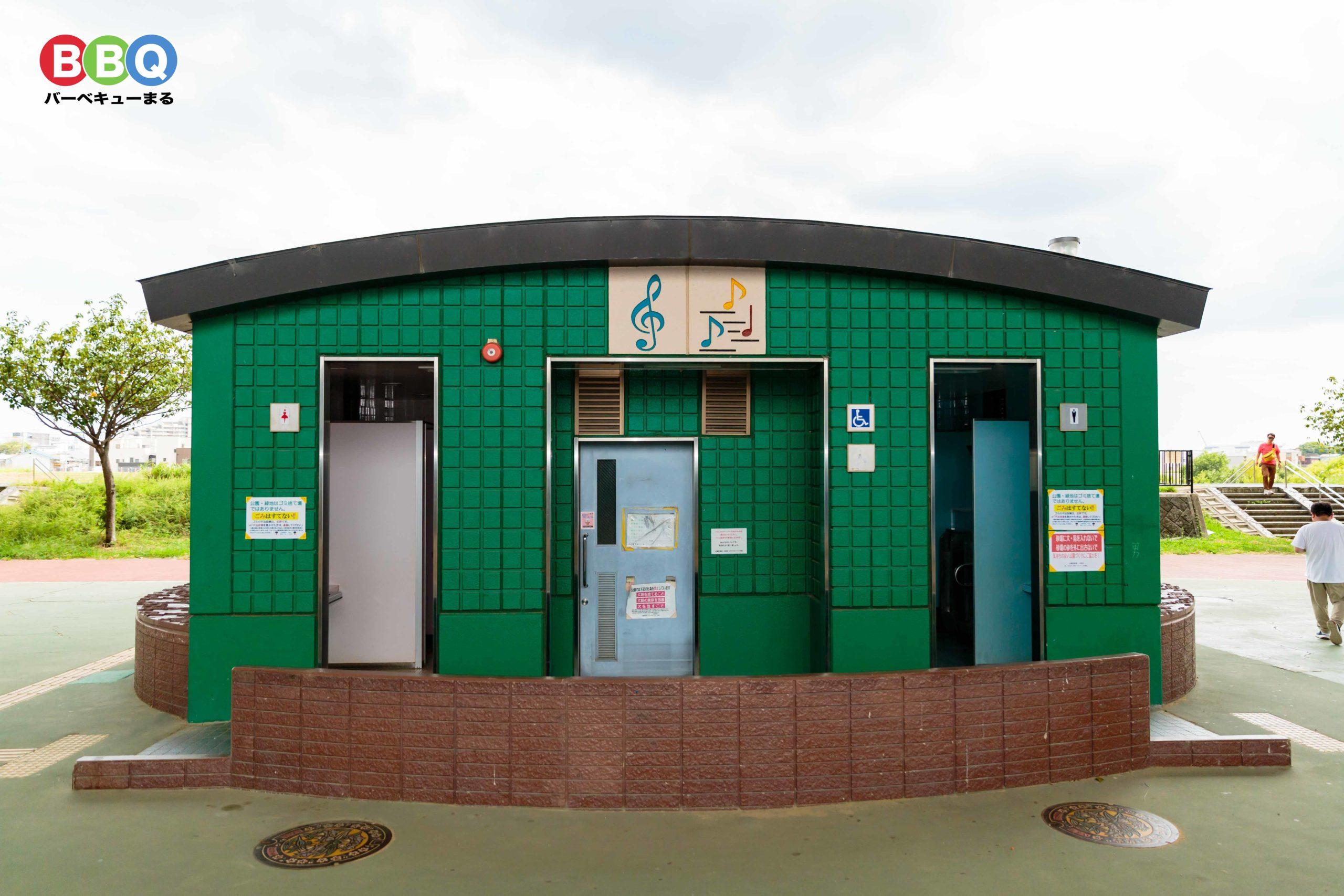ドラゴンランドの公衆トイレ